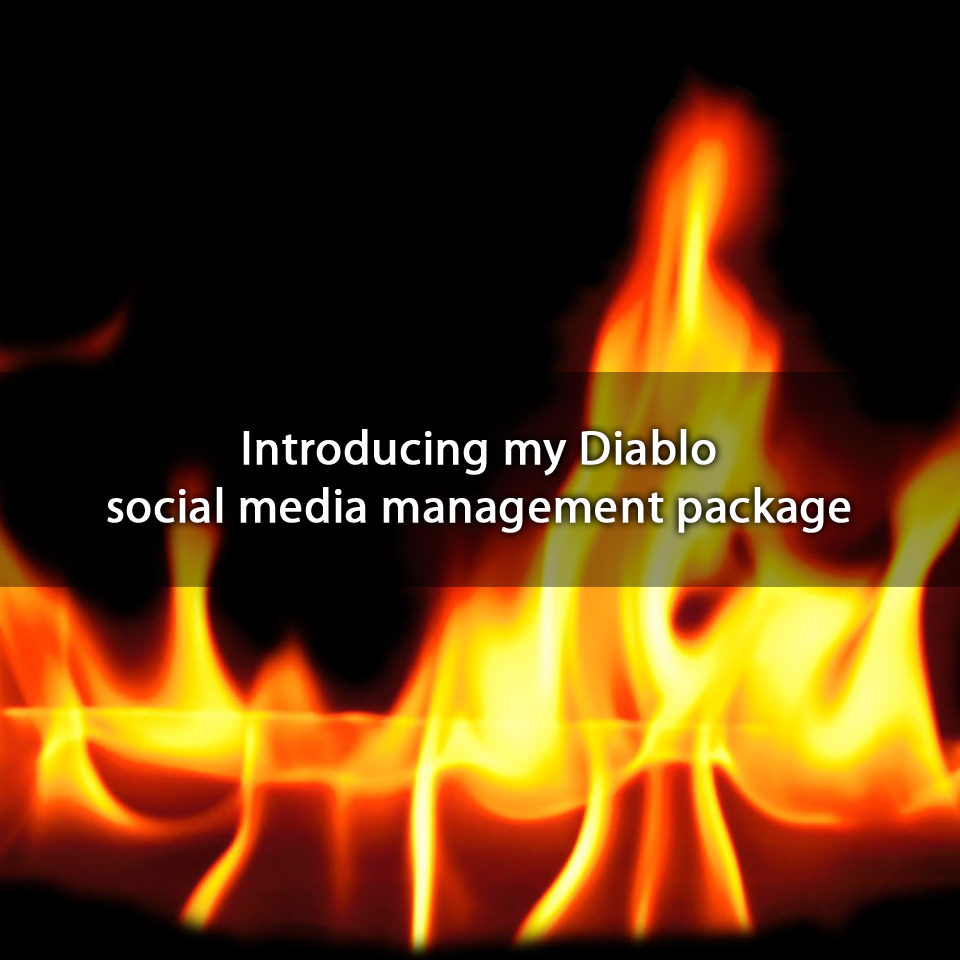 Introducing my Diablo social media management package