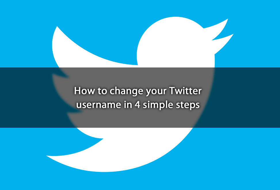How to change your Twitter username in 4 simple steps